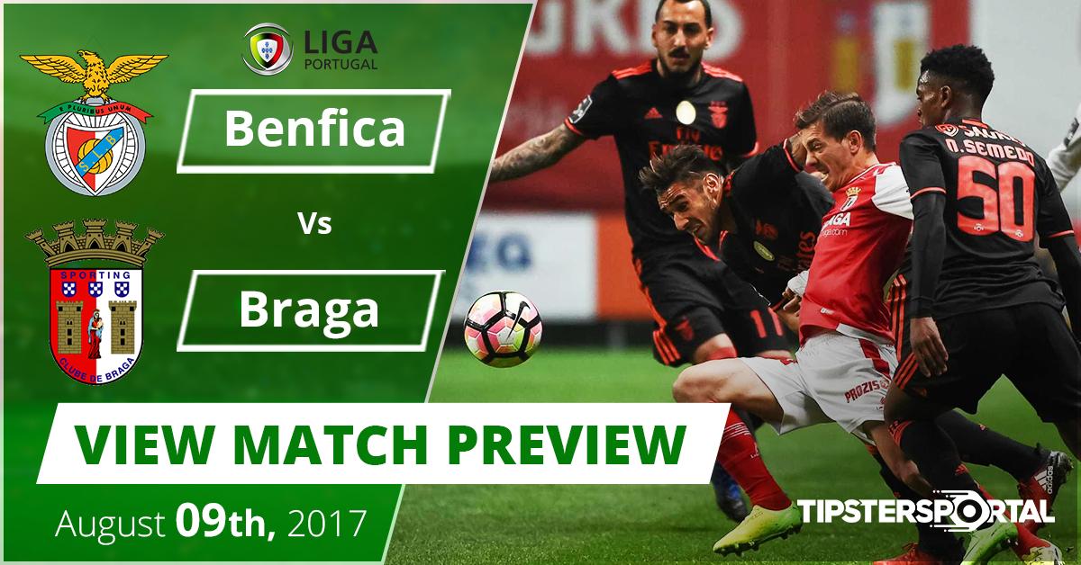 Benfica vs Braga - Match preview 00021e4f6a810